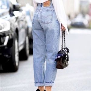 Vintage Levi's 550 High Rise Mom Jeans Sz 13